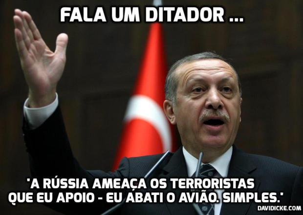 fala um ditador