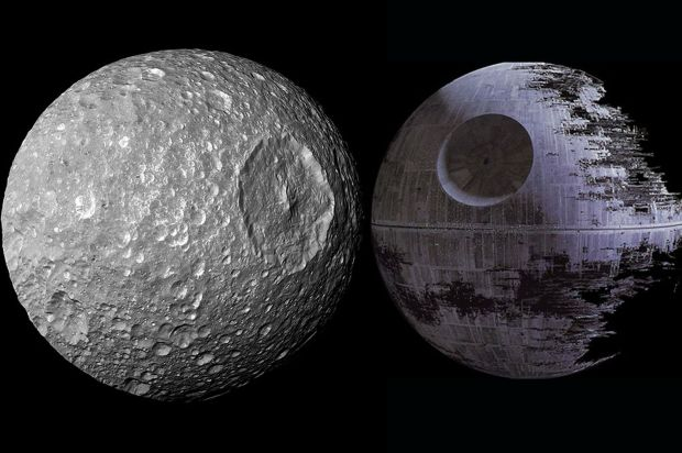 Saturn-Moon-and-Death-Star
