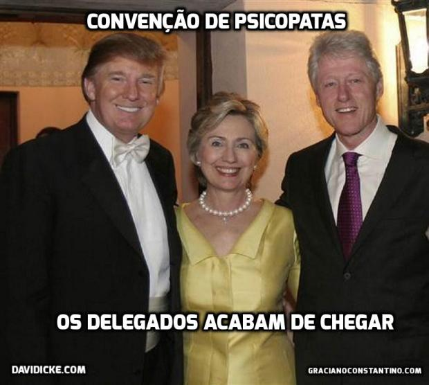 Trump Hillary Bill