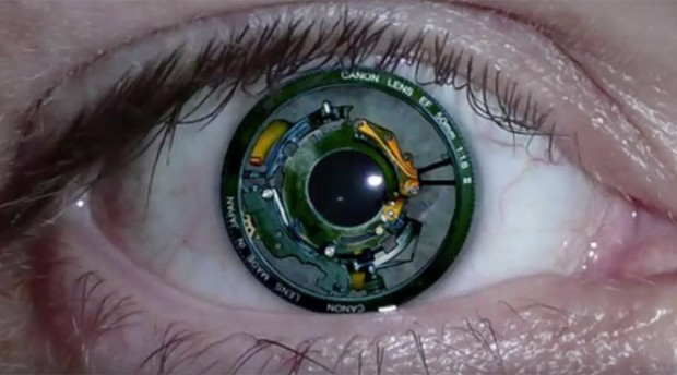 Resultado de imagem para olho bionico